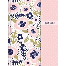 NIV Journal the Word Double-Column Bible for Girls, Hardcover