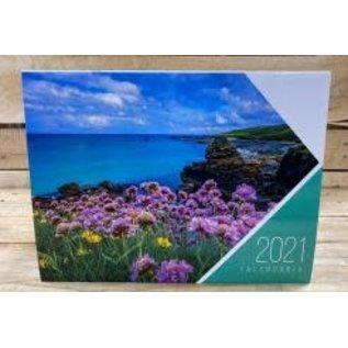 2021 Spanish Calendar: Flowers