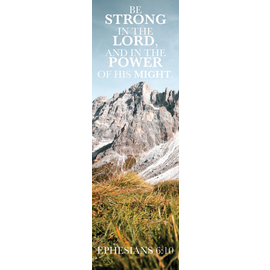 Bookmarks: Be Strong (Pack of 25)