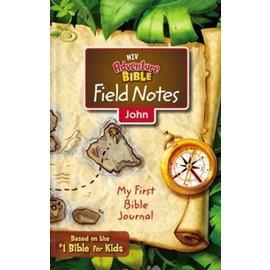NIV Adventure Bible Field Notes: John (My First Bible Journal)