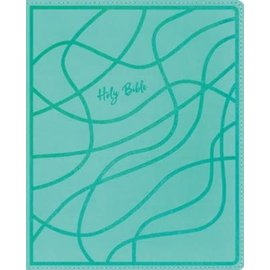 NIV Verse Mapping Bible for Girls, Teal Leathersoft