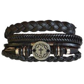 Bracelet - Faith Gear, Crown Cross