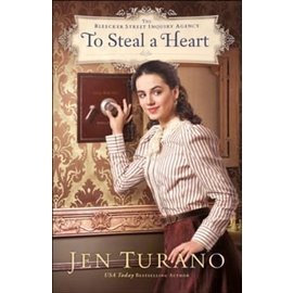 Bleecker Street Inquiry Agency #1: To Steal a Heart (Jen Turano), Paperback