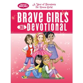 Brave Girls 365-Day Devotional, Hardcover
