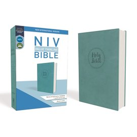 NIV Value Thinline Bible, Teal Leathersoft