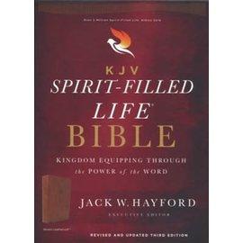 KJV Spirit-Filled Life Bible, Brown Leathersoft