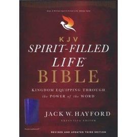 KJV Spirit-Filled Life Bible, Purple Leathersoft