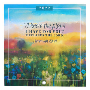 2022 Small Wall Calendar - I Know The Plans