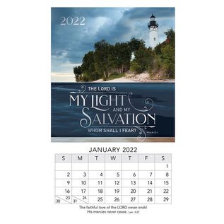 2022 Mini Magnetic Calendar - Light & Salvation