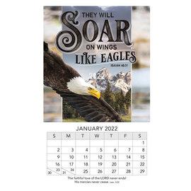 2022 Mini Magnetic Calendar - Soar Like Eagles