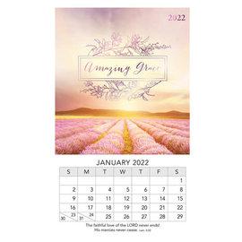 2022 Mini Magnetic Calendar - Amazing Grace