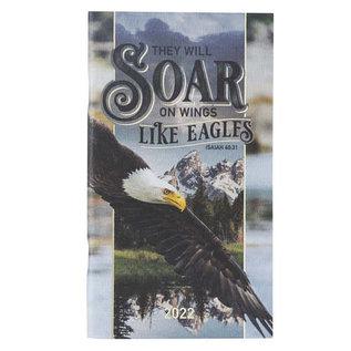 2022 Daily Pocket Planner - Soar Like Eagles