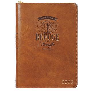 2022 Executive Planner - Refuge & Strength w/ Zipper