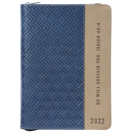 2022 Executive Planner - He Will Sustain You w/ Zipper