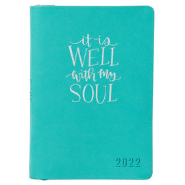 2022 Executive Planner - It Is Well With My Soul w/ Zipper