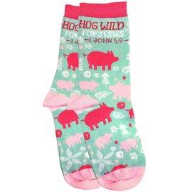 Socks - Hog Wild for Jesus