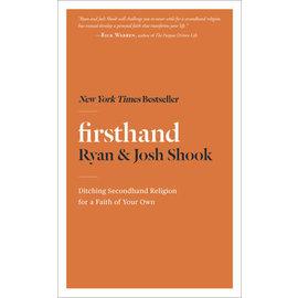 Firsthand (Ryan Shook, Josh Shook), Paperback