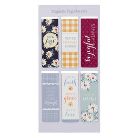 Magnetic Bookmarks - Daisy
