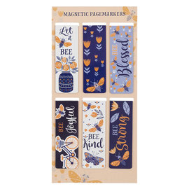 Magnetic Bookmarks - Let It Bee