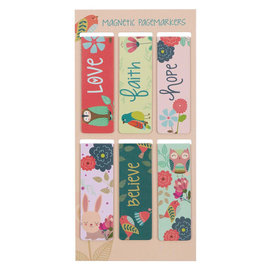 Magnetic Bookmarks - Love
