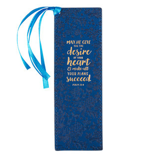 Bookmark - Desire of your Heart, Faux Leather