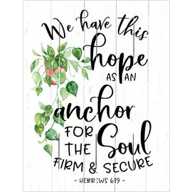Wall Art - We Have this Hope (9x12)