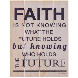 Wall Art - Faith, Future (9x12)