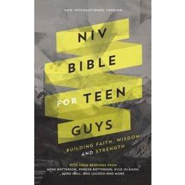 NIV Bible for Teen Guys, Hardcover