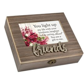 Musical Keepsake Box - Friends, That's What Friends Are For