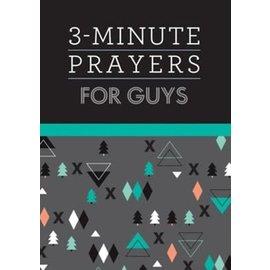 3-Minute Prayers for Guys