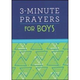 3-Minute Prayers for Boys