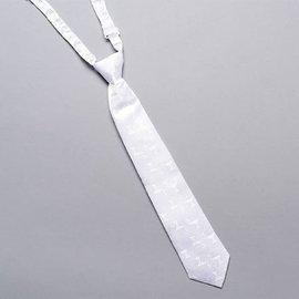 Boy's Tie - Communion, White
