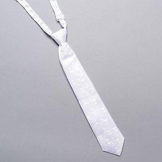 Boy's Tie - White