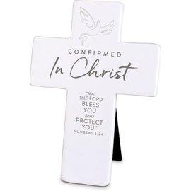 Tabletop Cross - Confirmed in Christ