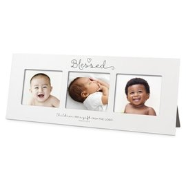 Multi-Photo Frame - Blessed, Baby