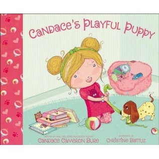Candace's Playful Puppy (Candace Cameron Bure), Hardcover