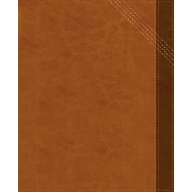 NIV Verse Mapping Bible, Brown Leathersoft, Indexed