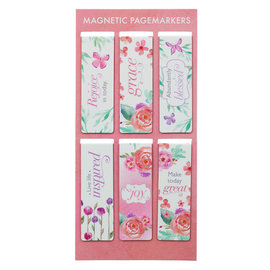 Magnetic Bookmark - Blossoms of Blessings