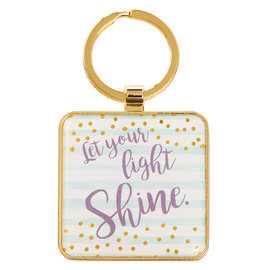 Keychain - Let your Light Shine