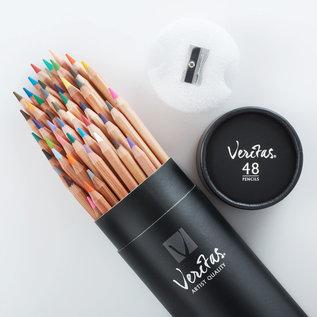 Colored Pencils - Veritas Tube, 48 Count