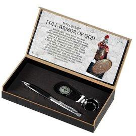 Pen & Keychain Set - Armor of God