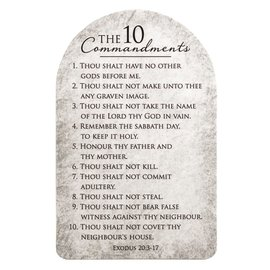 Pocket Card - 10 Commandments