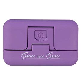 Clip-On Book Light - Grace Upon Grace, Purple