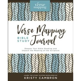 Verse Mapping Bible Study Journal (Kristy Cambron), Hardcover