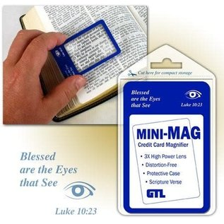 Bookmark - Magnifier, Wallet-size