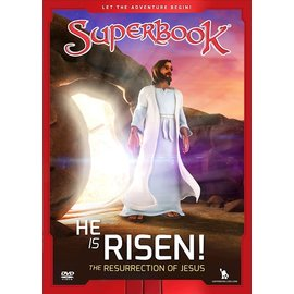 DVD - He is Risen!: The Resurrection of Jesus (Superbook)