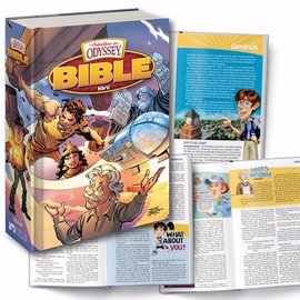 NIrV Adventures in Odyssey Bible, Hardcover