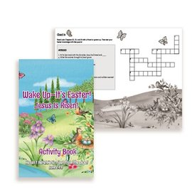 Wake Up It's Easter! Activity Book