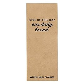 Weekly Meal Planner - Give Us This Day