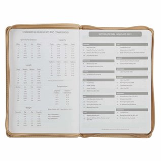 2021 Planner: A Time for Everything w/Zipper